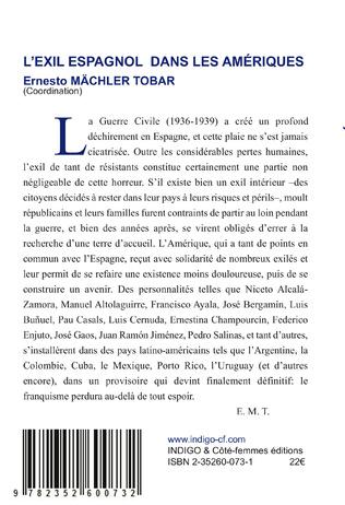 4eme L'exil espagnol dans les Amériques