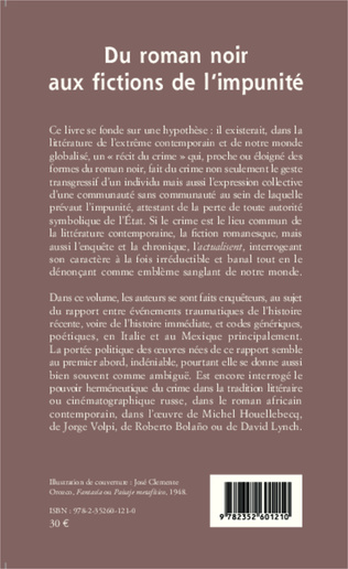 4eme Du roman noir aux fictions de l'impunité