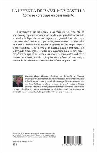 4eme La leyenda de Isabel primera de Castilla