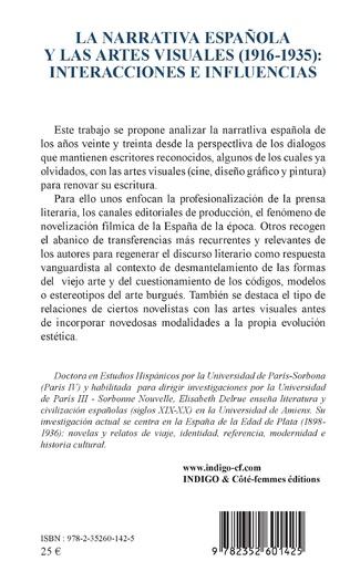 4eme La narrativa española y las artes visuales (1916-1935) :
