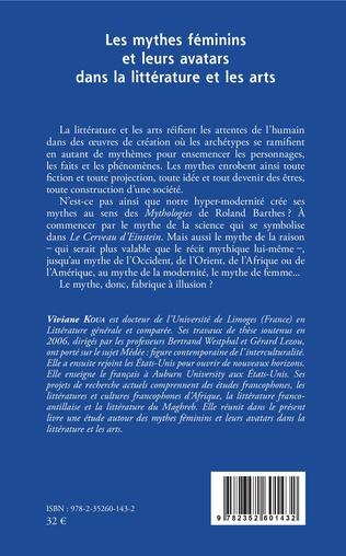4eme Les mythes féminins et leurs avatars dans la littérature et les arts