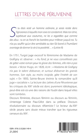 4eme Lettres d'une Péruvienne