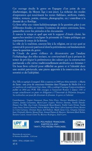 4eme Genre et identités en Espagne du moyen âge à nos jours