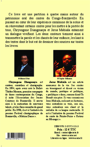 4eme Contes, comptines et berceuses du Congo-Brazzaville
