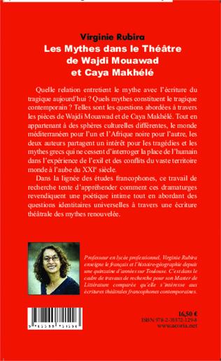 4eme Les mythes dans le théâtre de Wajdi Mouawad et Caya Makhélé