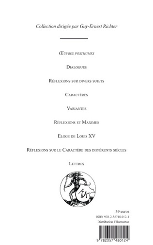 4eme Oeuvres complètes (Tome 3)