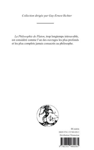 4eme PHILOSOPHIE DE PLATON (TOME II)