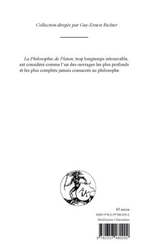 4eme PHILOSOPHIE DE PLATON (TOME III)