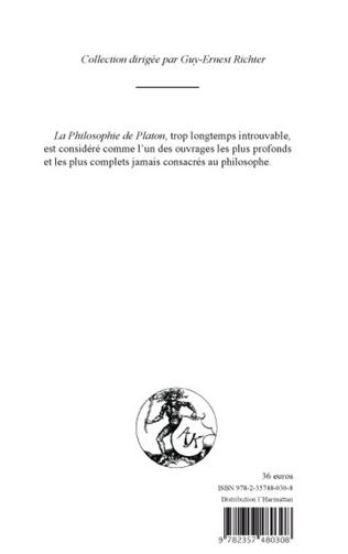 4eme PHILOSOPHIE DE PLATON (TOME IV)