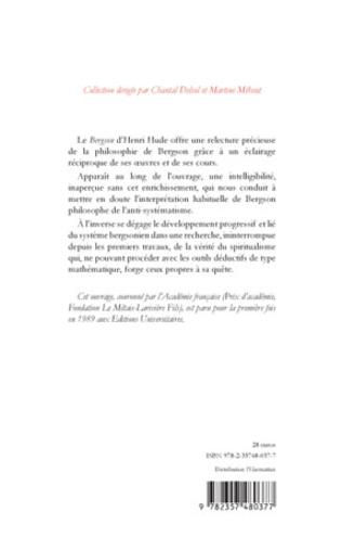 4eme BERGSON (Tome II)