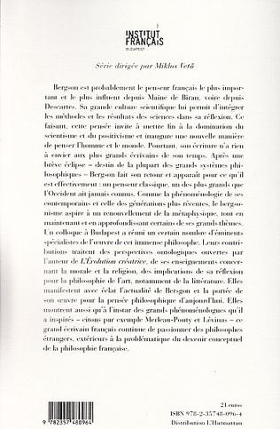 4eme Actualité d'Henri Bergson