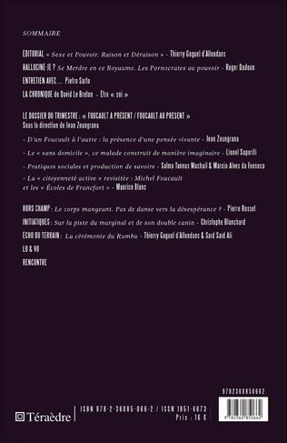 4eme Foucault à présent / Foucault au présent