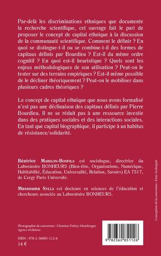 4eme Le capital ethnique