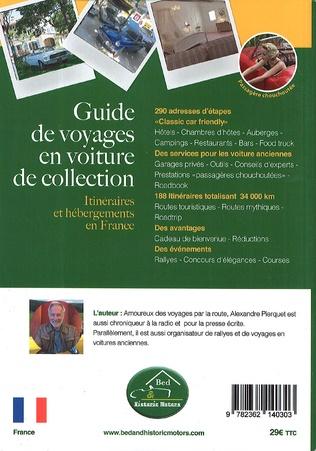 4eme Guide de voyages en voiture de collection - 5ème édition