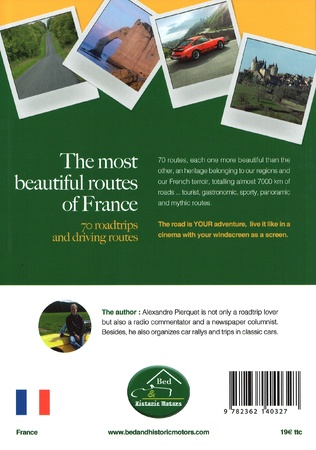 4eme The most beautiful routes of France