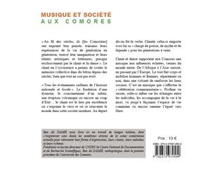 4eme Musique et société aux Comores