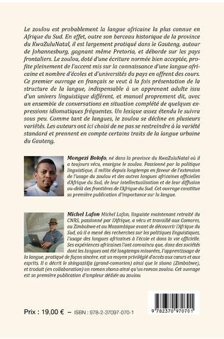 4eme Manuel de conversation français-zoulou et zoulou-français