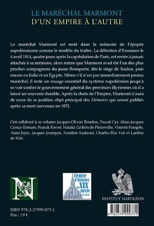 4eme Le maréchal Marmont d'un empire à l'autre