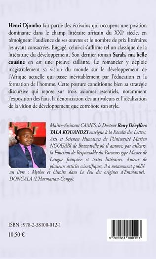4eme Sarah, ma belle-cousine : analyse de la posture d'Henri Djombo par rapport à la problématique du développement