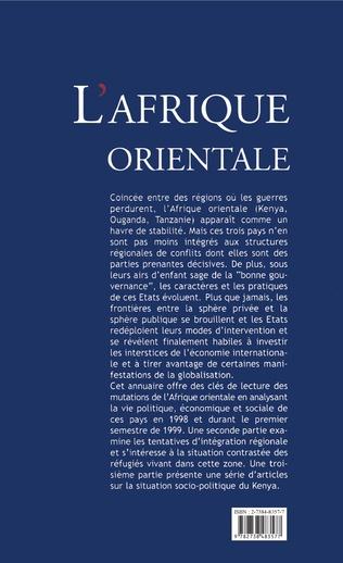 4eme L'AFRIQUE ORIENTALE