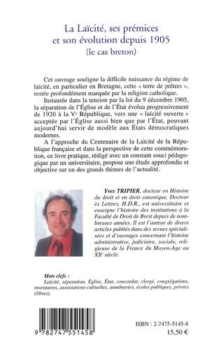 4eme La Laïcité, ses prémices et son évolution depuis 1905