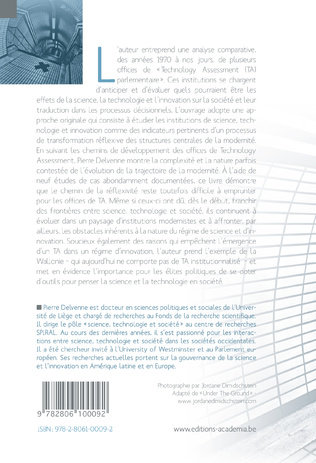4eme Science, technologie et innovation sur le chemin de la réflexivité