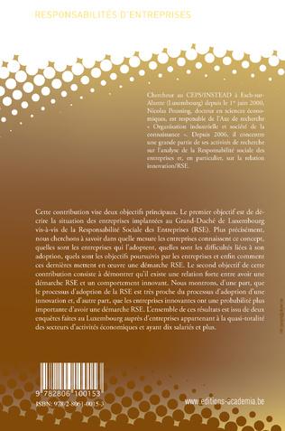 4eme La responsabilité sociale des entreprises au Luxembourg