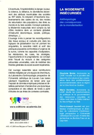 4eme Conclusion : Mondialisation, incertitudes et pensée d'un monde commun. Variations autour de la notion de