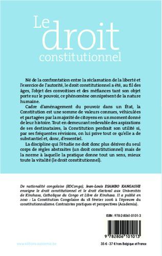 4eme Le droit constitutionnel