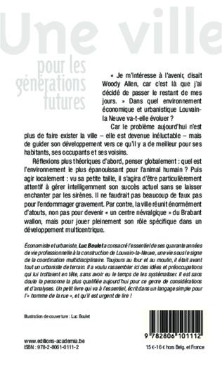 4eme Une ville pour les générations futures