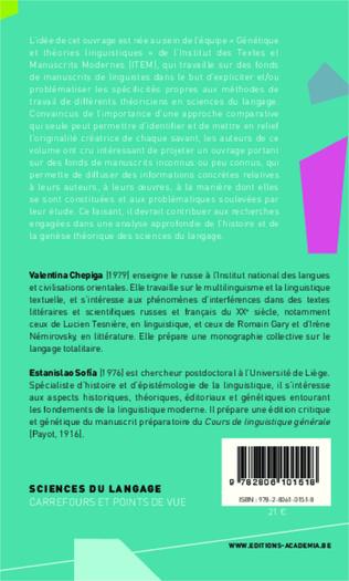 4eme Archives et manuscrits de linguistes