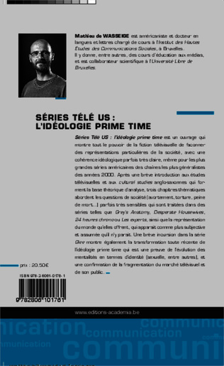 4eme Séries télé US : l'idéologie prime time