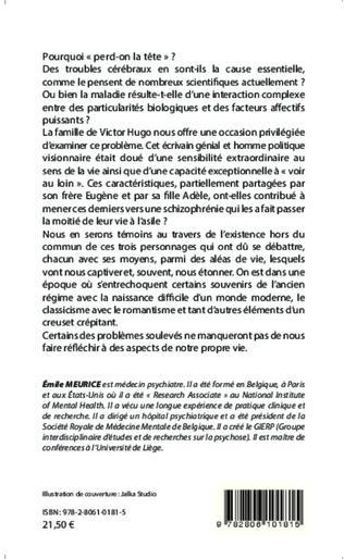 4eme Victor Hugo : génie et folie dans sa famille