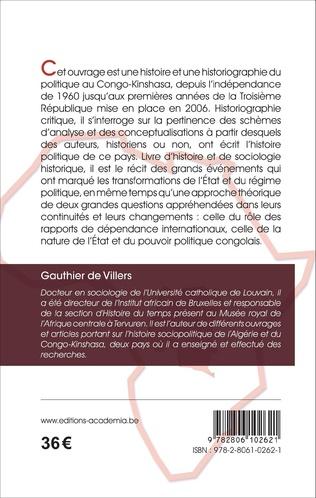 4eme Histoire du politique au Congo-Kinshasa
