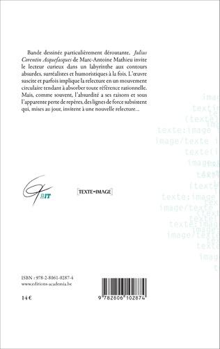 4eme Julius Corentin Acquefacques, par-delà la bande et le dessin