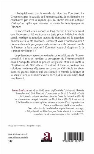 4eme PERCEPTIONS SOCIALES DE L'HOMOSEXUALITE