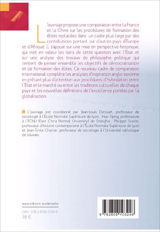 4eme La formation des élites en Chine et en France (XVIIe - XXIe siècles).