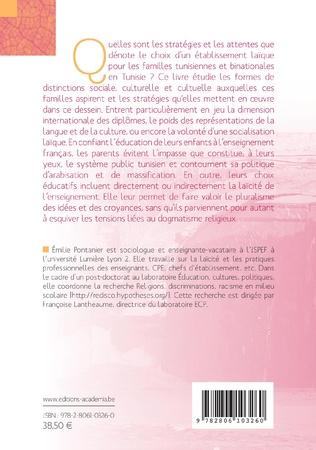 4eme Choisir un lycée laïque en Tunisie