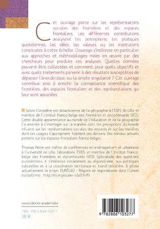 4eme Frontières et représentations sociales.