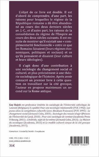4eme Le MODELE CULTUREL ARISTOCRATIQUE DE LA ROME ANTIQUE