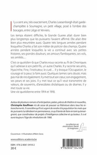 4eme Les Chroniques du Champêtre