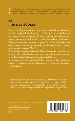 4eme 68, rue des Écoles