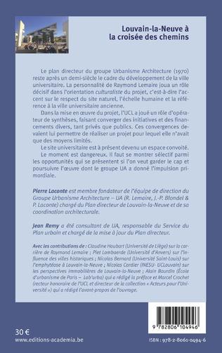 4eme Louvain-la-Neuve à la croisée des chemins