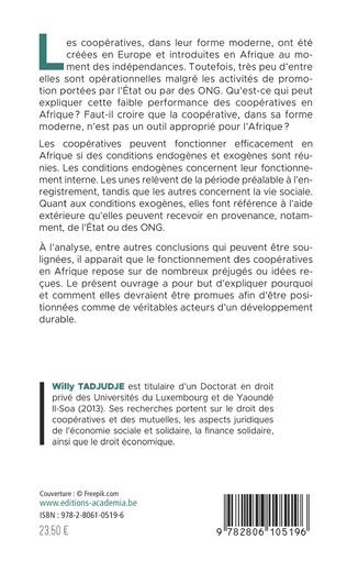 4eme Les conditions de l'efficacité des coopératives en Afrique