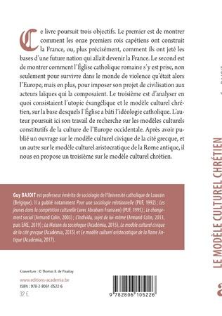 4eme Le modèle culturel chrétien de la France médiévale