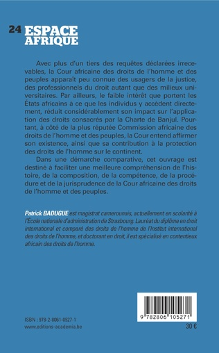4eme Manuel de la Cour africaine des droits de l'homme et des peuples