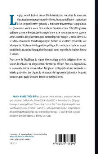 4eme Kleptocratie et mensonges en politique au Congo-Kinshasa