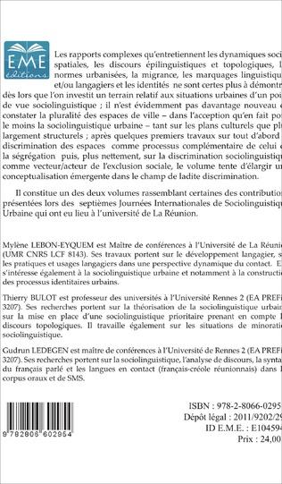 4eme Ségrégation, normes et discrimination(s)