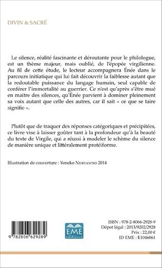 4eme Le silence dans l'<em>Énéide</em>
