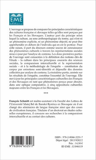 4eme Cultures française et slovaque